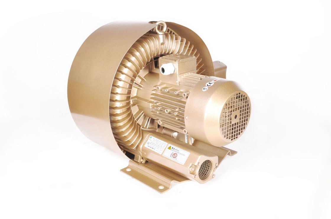 2 Stage 5.5kw Regenerative Vacuum Blower For Screen Printing Machine